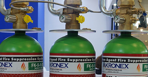 Akronex 1230 Fire Suppression Systems