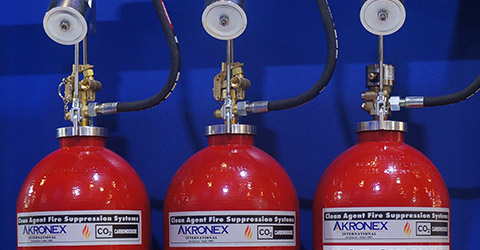 AKRONEX CO2 Fire Suppression Systems