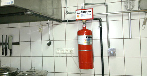 AKRONEX Kitchen Fire Suppression Systems