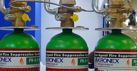 Akronex 1230 Fire Suppression Systems